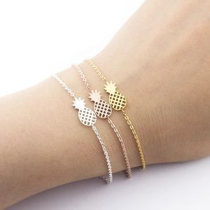 Pineapple bracelet(ask for rose gold if wanted)
